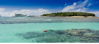 Green Island Full Day Trip + Snorkelling OR Glass Bottom Boat Thumbnail 3