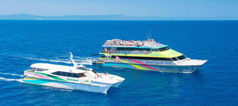Green Island Half Day Trip + Snorkelling OR Glass Bottom Boat Thumbnail 3