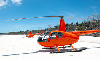 2 Hour Whitehaven Beach Helicopter Flight Thumbnail 4