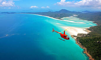 2 Hour Whitehaven Beach Helicopter Flight Thumbnail 5