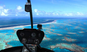 2.5 Hour Reef with Whitehaven Landing Helicopter Flight Thumbnail 2
