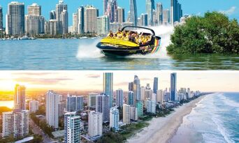 Gold Coast Jet Boat Ride and Helicopter Package Thumbnail 1