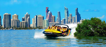 Gold Coast Jet Boat Ride and Helicopter Package Thumbnail 2