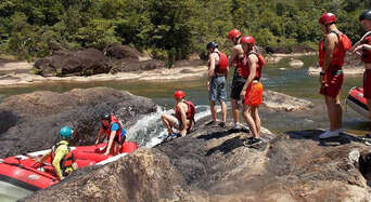 Tully River Full Day White Water Rafting Adventure with Dinner Thumbnail 3
