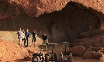Uluru Segway Tour with Return Transfers Thumbnail 1