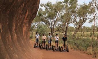 Uluru Segway Tour with Return Transfers Thumbnail 3