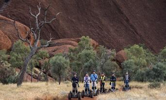 Uluru Sunrise and Segway Guided Tour Thumbnail 6