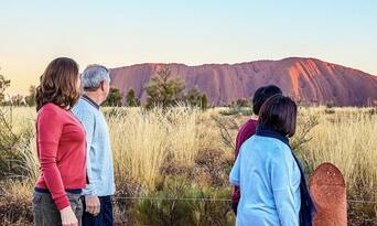 Uluru Morning Guided Base Walk including Breakfast Thumbnail 5