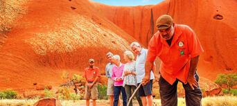 Uluru Morning Guided Base Walk including Breakfast Thumbnail 3