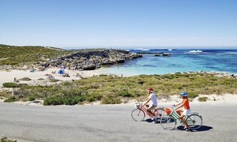 Rottnest Island Day Tour including Bike and Snorkel Hire from Fremantle Thumbnail 4