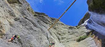 Via Ferrata Highest Experience including Heli Flight Thumbnail 5