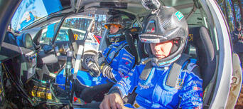 Brisbane Rally Car 2 Car Blast 16 Lap Thumbnail 2