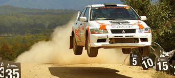 Brisbane Rally Car 2 Car Blast 16 Lap Thumbnail 6