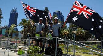 1.5 Hour East Perth Segway Tour Thumbnail 1