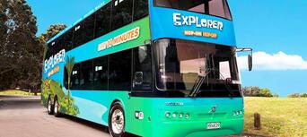 Waiheke Hop On Hop Off Explorer Bus & Ferry Journey Thumbnail 1