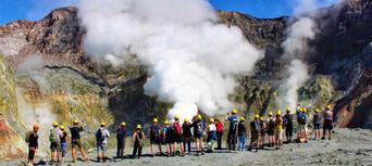 Guided White Island Volcano Tour with Rotorua Transfers Thumbnail 3