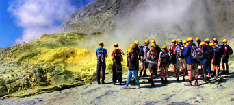 Guided White Island Volcano Tour with Rotorua Transfers Thumbnail 5