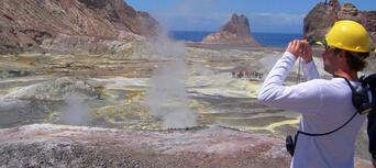 Guided White Island Volcano Tour with Rotorua Transfers Thumbnail 6