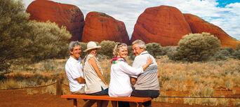 4 Day Kata Tjuta Uluru and Kings Canyon Tour Thumbnail 1