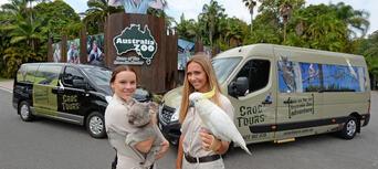 Australia Zoo Entry with Sunshine Coast Hotel Transfers Thumbnail 2