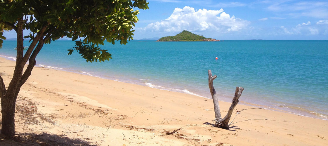 Beach at Hydeaway Bay
