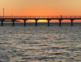 Hervey Bay Sunset Cultural Cruise with Champagne and Canapes Thumbnail 5