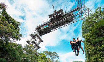Cairns Unlimited Bungy Jump and Giant Jungle Swing Pass Thumbnail 2