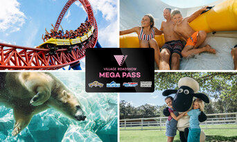 14 Day Pass to Movie World, Sea World, Wet'n'Wild & Paradise Country Thumbnail 1
