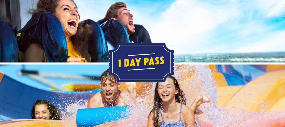 Dreamworld 1 Day Ticket - 2 Parks