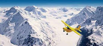 Scenic Flight Of Mt Cook From Wanaka Thumbnail 3