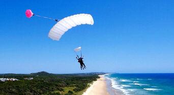 Noosa Tandem Skydive up to 10,000ft Thumbnail 1