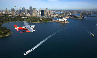 30 Minute Scenic Flight over Sydney Thumbnail 1