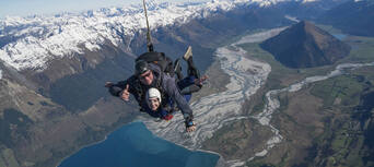 Glenorchy Skydive with Return Queenstown Transfers Thumbnail 1