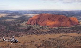 36 Minute Uluru and Kata Tjuta Helicopter Flight Thumbnail 1