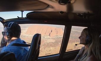 36 Minute Uluru and Kata Tjuta Helicopter Flight Thumbnail 4