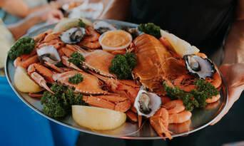 Mooloolaba Seafood Lunch Cruise and SEA LIFE Sunshine Coast Combo Thumbnail 2