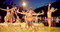 Tjapukai Aboriginal Dance Show and Buffet Dinner with Cairns Hotel Transfers Thumbnail 1
