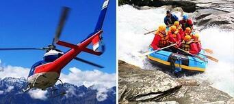 Shotover White Water Rafting and Heli Flight Thumbnail 1