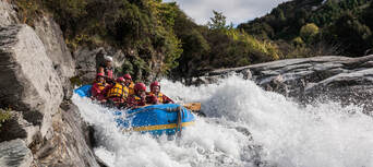 Shotover White Water Rafting and Heli Flight Thumbnail 3