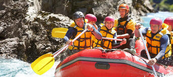 Shotover White Water Rafting and Heli Flight Thumbnail 6