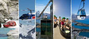 Shotover Jet, Skyline Gondola and Luge and Helicopter Package Thumbnail 1
