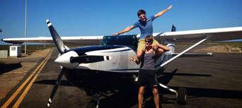 Scenic Flight From Kalbarri To Monkey Mia With A Dolphin Encounter Thumbnail 5