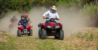 Cairns Full Day Horse Ride and ATV Quad Bike Tour Thumbnail 1