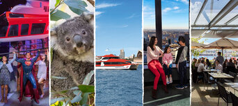 Sydney 4 Attractions Pass with Lunch and Cruise Thumbnail 1
