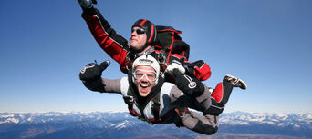 Queenstown Skydive with Helicopter and Rafting Combo Thumbnail 5