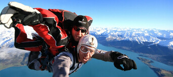 Queenstown Skydive with Helicopter and Rafting Combo Thumbnail 6