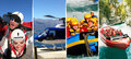 Queenstown Skydive with Jetboat Helicopter and Rafting Combo Thumbnail 1