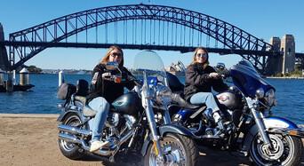 Harley Motorcycle or Chopper 4 Trike Sydney City Tour Thumbnail 1