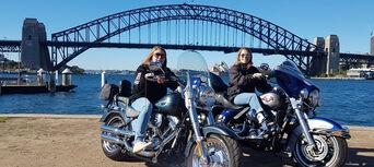 Harley Motorcycle or Chopper 4 Trike Sydney City and Bondi Tour Thumbnail 2