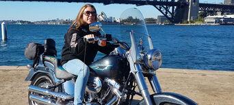 Harley Motorcycle or Chopper 4 Trike Sydney City and Bondi Tour Thumbnail 3